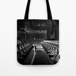 Darkside of the Laundry-mat Tote Bag
