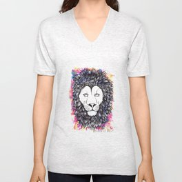 Lion Heart Unisex V-Neck