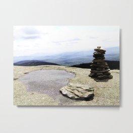 Mountain Carin Metal Print