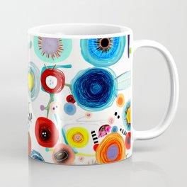 Rupydetequila whimsical floral art 2018 Coffee Mug