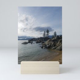Serenity at Sand Harbor Mini Art Print