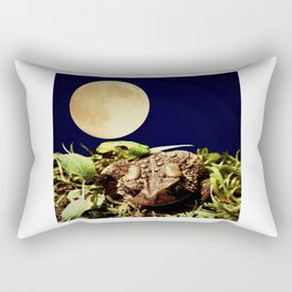 The Toad's Moon Rectangular Pillow