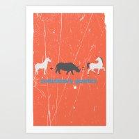 evolution Art Prints featuring Evolution by Tony Vazquez