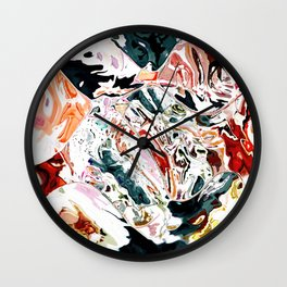 Someone dropped my painting Wall Clock