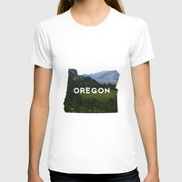 oregon T-shirts featuring Oregon by Hillary Murphy