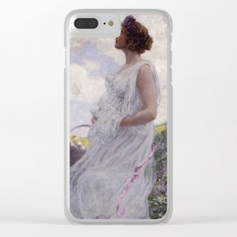 George Hitchcock - Calypso Clear iPhone Case
