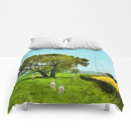 Sheep and Shade Comforters