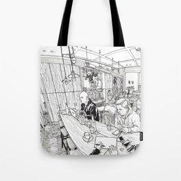 Jack.B.Nimble cafe Tote Bag