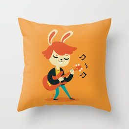 I know it's only rock 'n roll but I like it! Throw Pillow