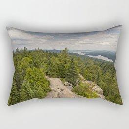 a view from Bald Mountain Rectangular Pillow