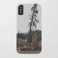 truck iPhone & iPod Cases featuring Tree Truck by Kevin Russ