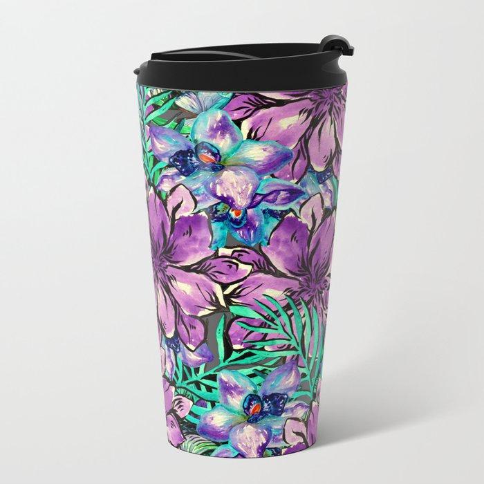 My Tropical Garden 4 Metal Travel Mug