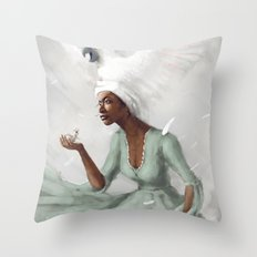 _no name Throw Pillow