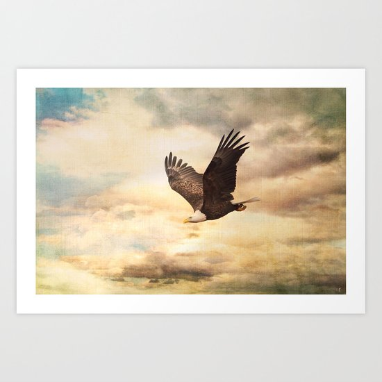 Early Evening Flight Art Print