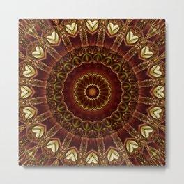 Mandala divine love no. 3 Metal Print