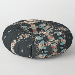 Aztec Mud Cloth Floor Pillow