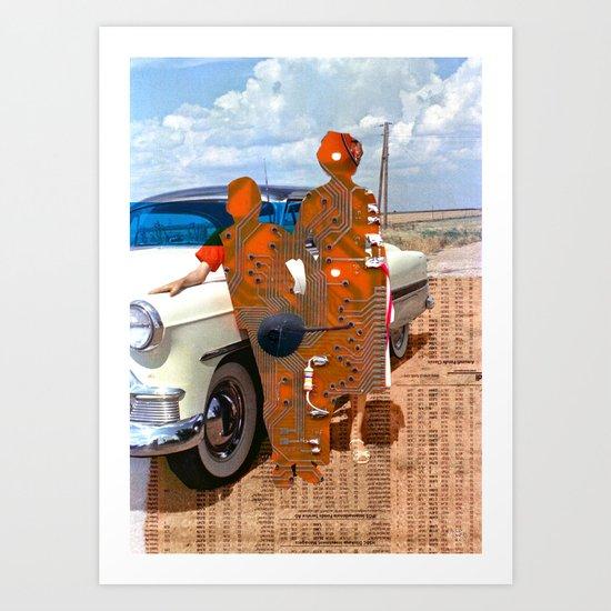 Lost Memories 3 Art Print