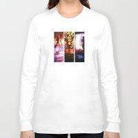 mass effect Long Sleeve T-shirts featuring Mass Effect by Vaahlkult