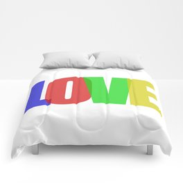 Love (Color) Comforters