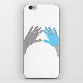 Perfection is Boring iPhone Skin
