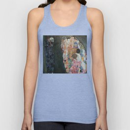 Life and Death - Gustav Klimt Unisex Tank Top