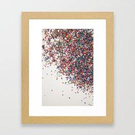 Fun II (NOT REAL GLITTER) Framed Art Print