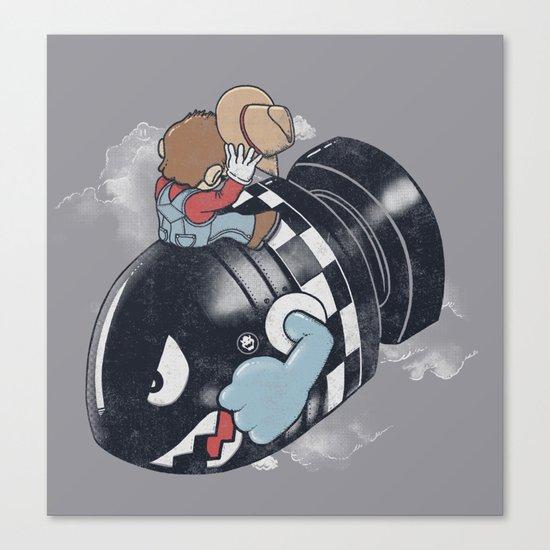 Love The Bomb Canvas Print