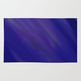 Finding Peace - Abstract, smooth, silky blue painting, peaceful, relaxing, modern art Rug