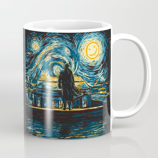 Starry Fall (Sherlock) Coffee Mug