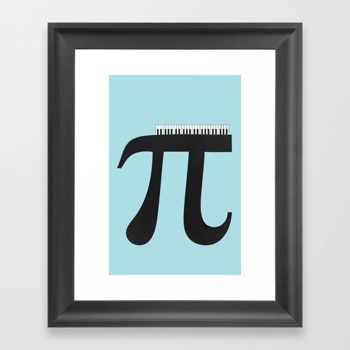 Pi_ano Framed Art Print