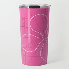 hibiscus window Travel Mug