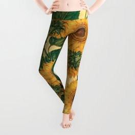 Helianthus Annuus Leggings