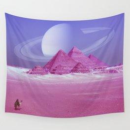 Pyramids, Saturn & the Desert Wall Tapestry