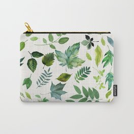 Circle of Leaves Carry-All Pouch