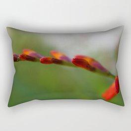Crocosmia Up Close Rectangular Pillow