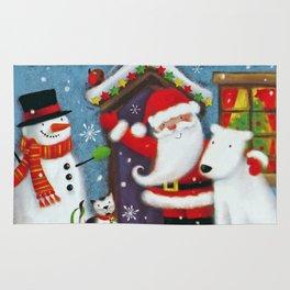 Santa's House Rug