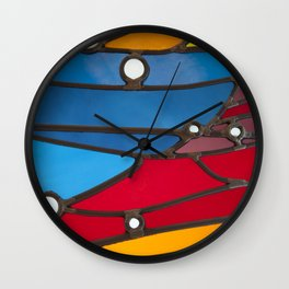 RAINBOW GLASS Wall Clock