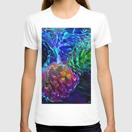 Pineapple: Splash Into Blacklight T-shirt