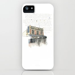 133 Ridiford Street, Wellington iPhone Case