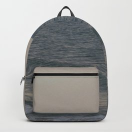 Breakers // Lake Michigan Waves Photography Backpack