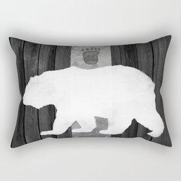 White Bear Rectangular Pillow