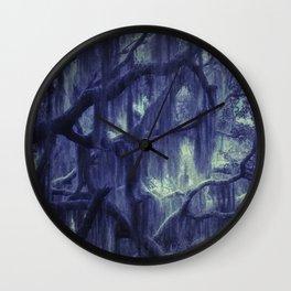 Moody woods Wall Clock