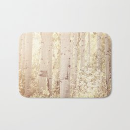 Dreamy Aspen Forest Bath Mat