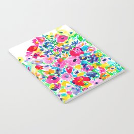 Flower Fields Pink Notebook