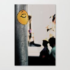 LIFE GOES ON Canvas Print