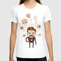 swanson T-shirts featuring Ron Swanson by Cody Bond