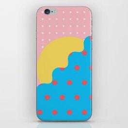 Memphis Style N°6 iPhone Skin