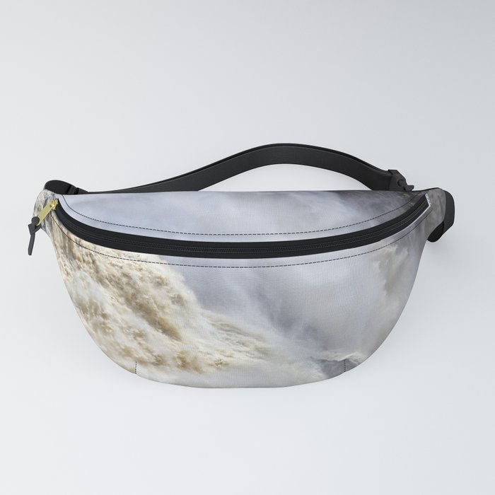 Raging thunder of the waterfall Fanny Pack
