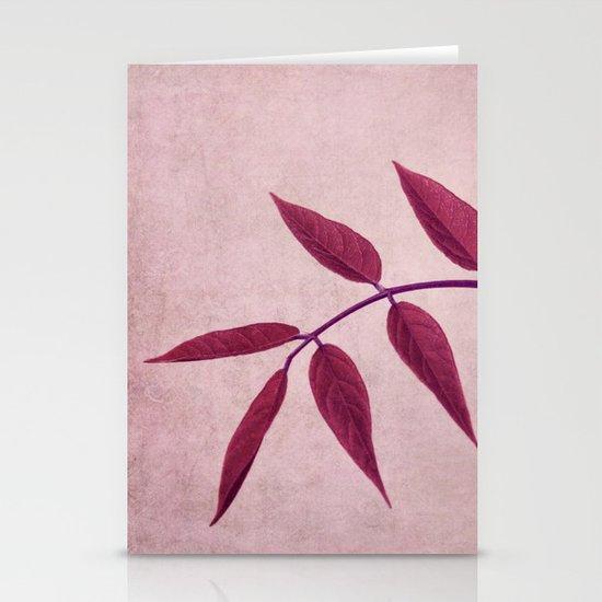 carmine Stationery Cards