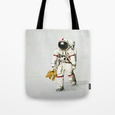 Space can be lonely Tote Bag